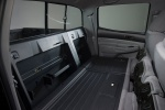 Picture of 2015 Toyota Tacoma Double Cab SR5 V6 4WD Rear Seats Folded in Graphite