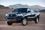 2015 Toyota Tacoma Double Cab SR5 V6 4WD in Blue Ribbon Metallic - Static Front Left View