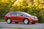 2012 Toyota Venza in Barcelona Red Metallic - Driving Front Right Three-quarter View