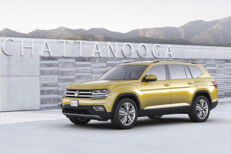 2018 Volkswagen Atlas V6 SEL Picture