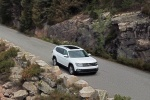 2018 Volkswagen Atlas SEL in Pure White - Driving Front Right View