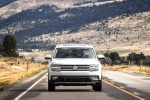 2018 Volkswagen Atlas SEL in Pure White - Driving Frontal View