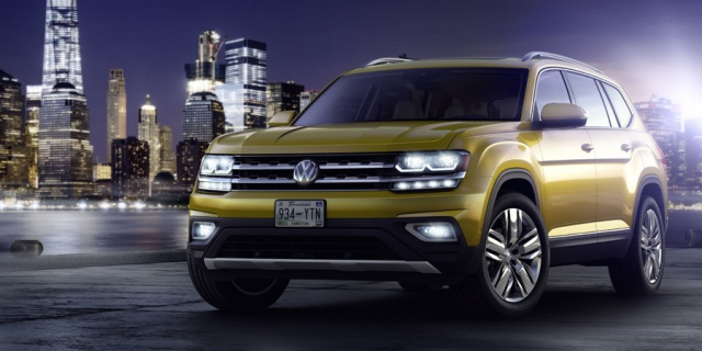 Research the 2019 Volkswagen Atlas