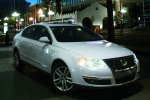 2010 Volkswagen Passat Sedan 2.0T in Candy White - Static Front Right Three-quarter View