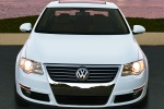 2010 Volkswagen Passat Sedan 2.0T in Candy White - Static Frontal View
