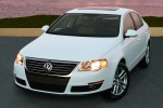 2010 Volkswagen Passat Sedan 2.0T in Candy White - Static Front Left View