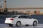 2016 Volkswagen Passat 1.8T Sedan in Pure White - Static Rear Rightthree-quarter View