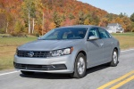 2018 Volkswagen Passat Sedan in Reflex Silver Metallic - Driving Front Left Three-quarter View