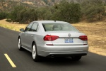2018 Volkswagen Passat Sedan in Reflex Silver Metallic - Driving Rear Left View