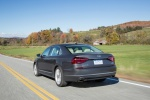 2018 Volkswagen Passat V6 Sedan in Platinum Gray Metallic - Driving Rear Left View