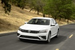 2018 Volkswagen Passat Sedan in Pure White - Driving Front Left View