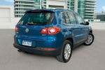 2011 Volkswagen Tiguan in Sapphire Blue Metallic - Static Rear Right Three-quarter View