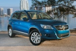 2011 Volkswagen Tiguan in Sapphire Blue Metallic - Static Front Right Three-quarter View