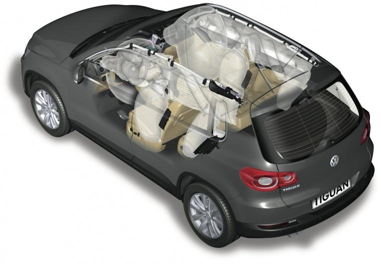 2017 Volkswagen Tiguan Airbags Picture
