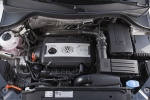 Picture of a 2017 Volkswagen Tiguan's 2.0-liter 4-cylinder turbocharged Engine