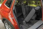 Picture of a 2018 Volkswagen Tiguan SEL's Rear Seat Folded