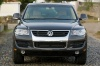 2010 Volkswagen Touareg TDI in Galapagos Gray Metallic from a frontal view