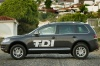 2010 Volkswagen Touareg TDI in Galapagos Gray Metallic from a side view