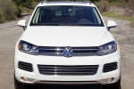 2012 Volkswagen Touareg TDI in Campanella White - Static Frontal View