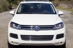 2013 Volkswagen Touareg TDI in Pure White - Static Frontal View
