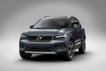 Picture of a 2020 Volvo XC40 T5 Inscription AWD in Denim Blue Metallic from a front left perspective
