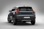 Picture of a 2020 Volvo XC40 T5 Inscription AWD in Denim Blue Metallic from a rear left perspective