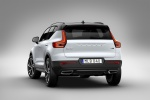 Picture of a 2020 Volvo XC40 T5 R-Design AWD in Crystal White Metallic from a rear left perspective