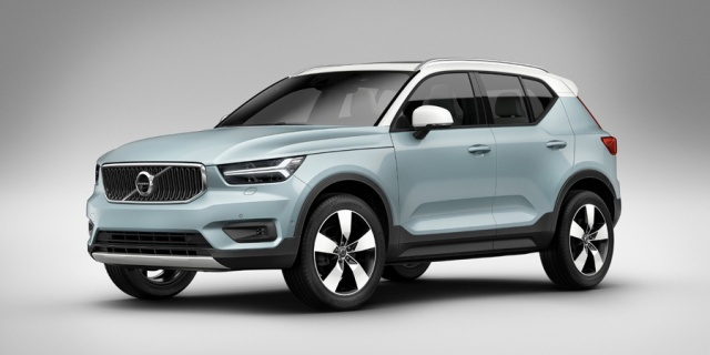 Research the 2020 Volvo XC40