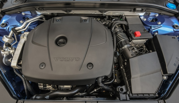 Picture of a 2019 Volvo XC60 T6 AWD's 2.0-liter 4-cylinder supercharged and turbocharged Engine