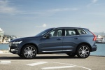 Picture of a 2019 Volvo XC60 T6 AWD in Denim Blue Metallic from a left side perspective