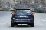 2019 Volvo XC60 T6 AWD in Denim Blue Metallic - Static Rear View