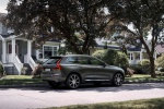 2019 Volvo XC60 T6 AWD in Pine Gray Metallic - Static Rear Right View
