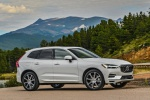 Picture of a 2019 Volvo XC60 T8 eAWD in Crystal White Pearl Metallic from a front right three-quarter perspective