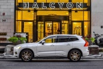 Picture of a 2019 Volvo XC60 T8 eAWD in Crystal White Pearl Metallic from a left side perspective