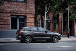 2019 Volvo XC60 T6 AWD in Pine Gray Metallic - Static Rear Right Three-quarter View