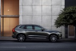 2019 Volvo XC60 T6 AWD in Pine Gray Metallic - Static Right Side View