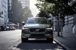 Picture of a 2019 Volvo XC60 T6 AWD in Pine Gray Metallic from a frontal perspective